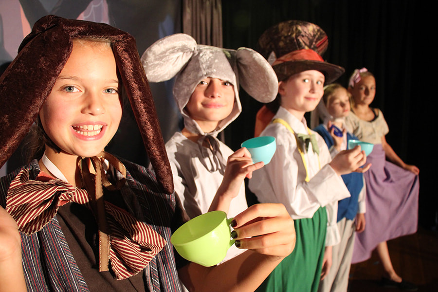 Alice in Wonderland, Alice's Adventures in Wonderland Kids' Theatre Program, Theatre Camp, After School, Compass Creative Dramatics