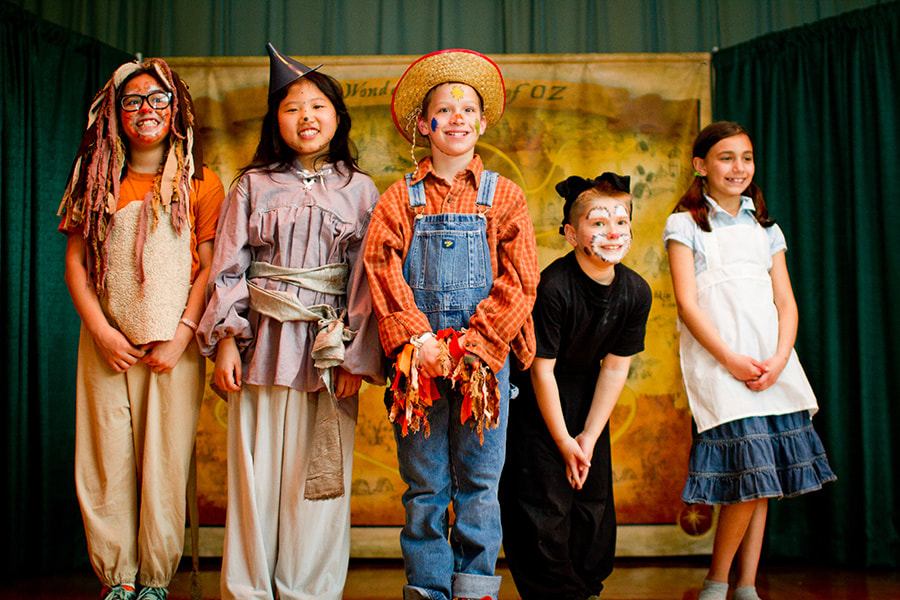 The Wizard of Oz Kids' Theatre Program, Theatre Camp, After School, Compass Creative Dramatics
